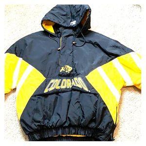 NCAA starter jacket Colorado buffs